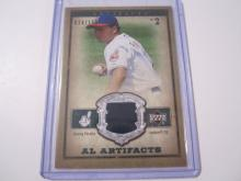 2006 Upper Deck Artifacts Jhonny Peralta Game Used Jersey #24/150 Indians