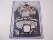 2006 Fleer Ultra Brian Giles Game Used Jersey Padres