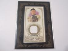2012 Topps Allen and Ginter's The World Champions Max Scherzer Game Used Memorabilia Tigers