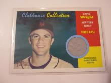 2006 Topps Clubhouse Collection David Wright Game Used Jersey Mets
