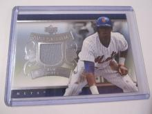 2007 Upper Deck Game Materials Jose Reyes Game Used Jersey Mets
