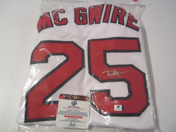 purchase cheap 90e27 4e834 Mark McGwire St Louis Cardinals signed autographed baseball ...