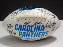 Signed Football, 2016 Carolina Panthers Team