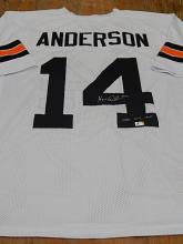 Signed Jersey, Ken Anderson, #14