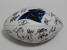 2016 Carolina Panthers Team Signed Football