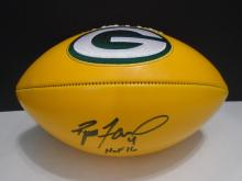 Signed Packers Football,  Bret Farve