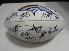 Signed Broncos Football, Broncos Team