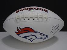 Signed Broncos Football, Emanuel Sanders