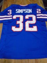 Signed Jersey, OJ Simpson #32