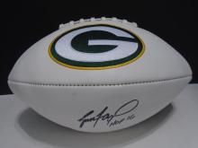 Signed Green Bay Packers Football, Brett Favre