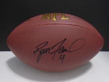 Signed Football, Brett Favre