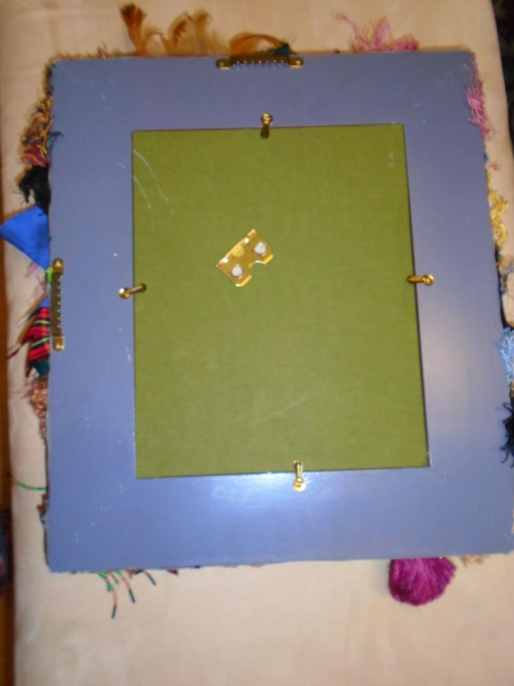 Mackenzie Childs Vintage Picture Frame