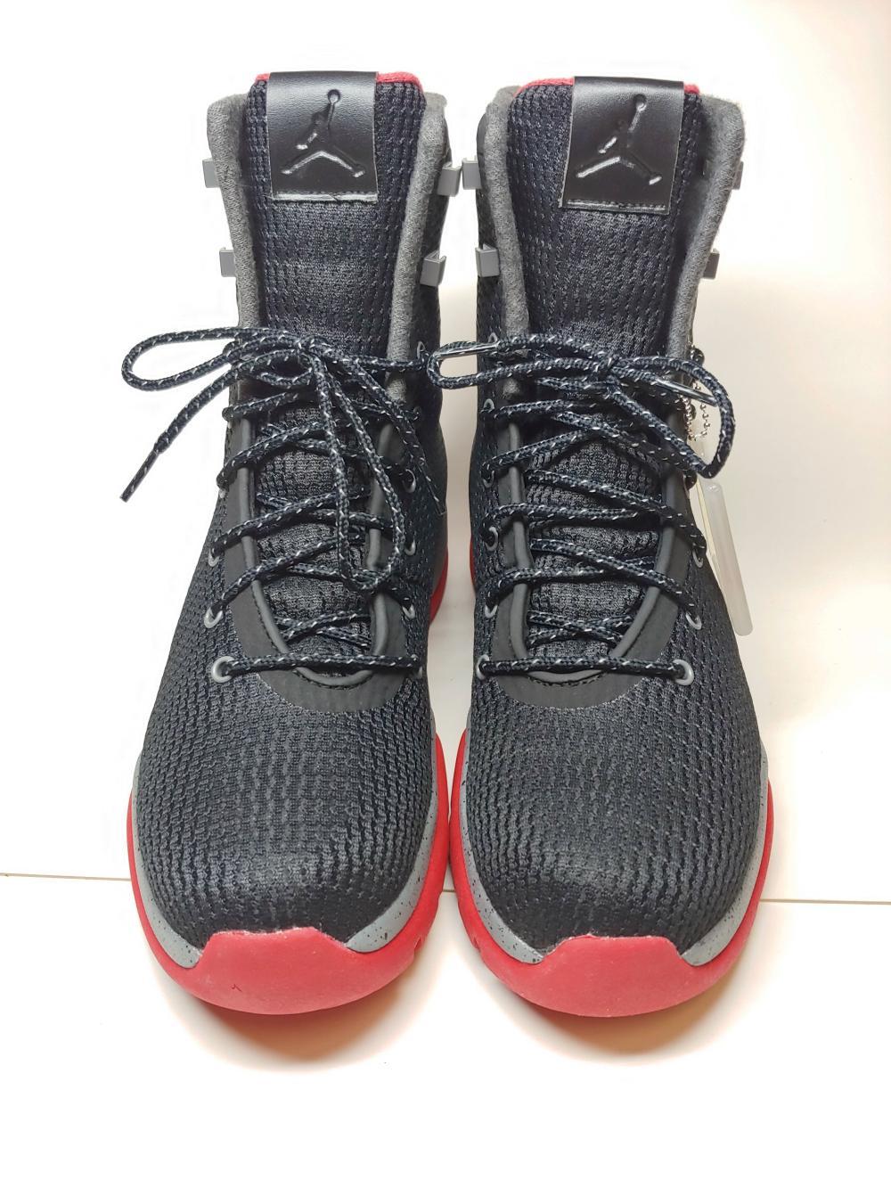 cd891525e10 Brand New Mens NIke Air Jordan Future Boot Waterproof Black Cool ...