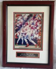 MARK McGUIRE FRAMED PICTURE