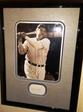 BABE RUTH FRAMED PICTURE