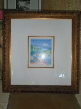 WATER COLOR LITHOGRAPH IN A FRAME. LTD ED 250/300