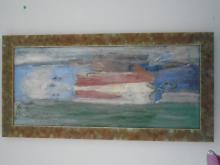 ABSTRACT OIL PAINTING BY MARJORIE LIEBMAN