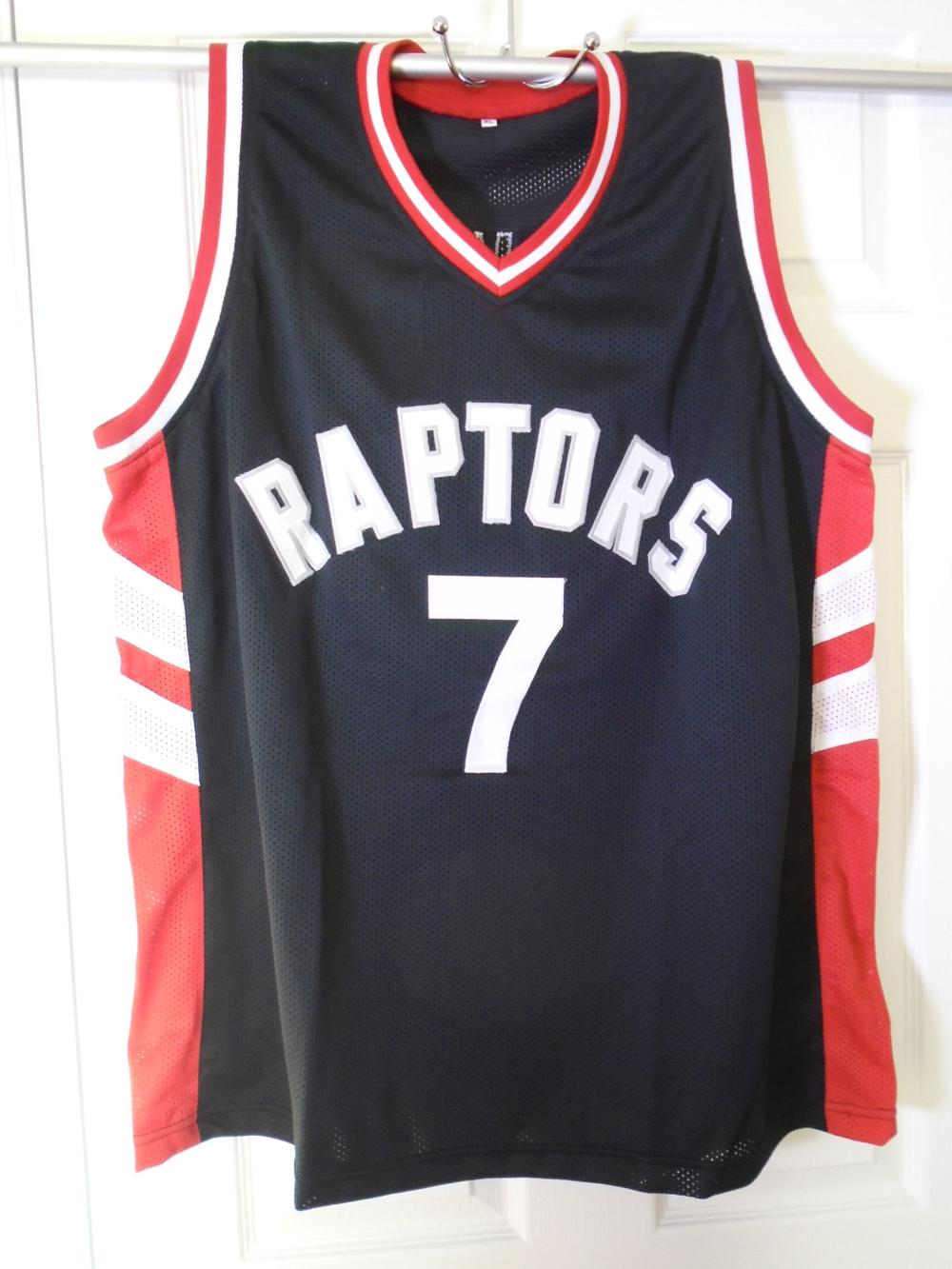 cheap for discount ded42 e7b79 Kyle Lowry signed Toronto Raptors Jersey