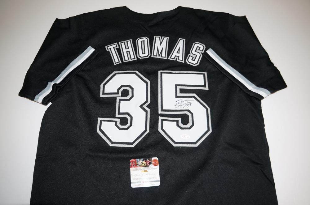 sale retailer ce97f 70370 Frank Thomas signed Chicago White Sox Jersey