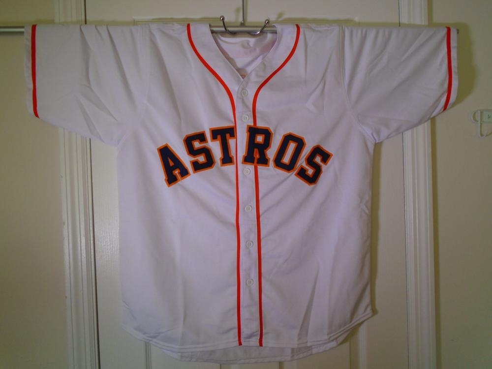 new concept 8b2fe a6ae0 Josh Reddick signed Houston Astros Jersey