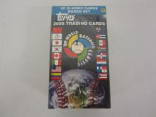 Factory Sealed 2009 Topps World Baseball Classic Trading Card Wax Box