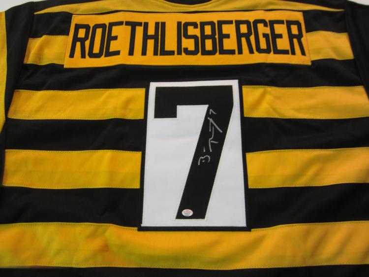 best service 80b07 008cd Ben Roethlisberger Pittsburgh Steelers signed autographed ...