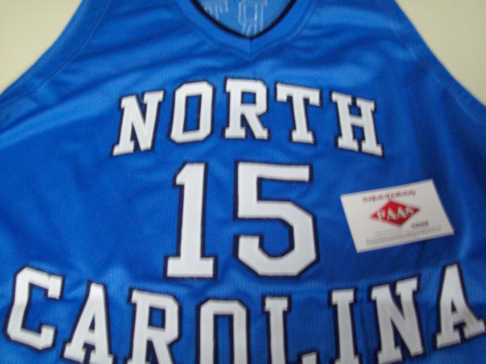 low priced e066e c074e Vince Carter North Carolina Tar Heels Signed Autographed ...