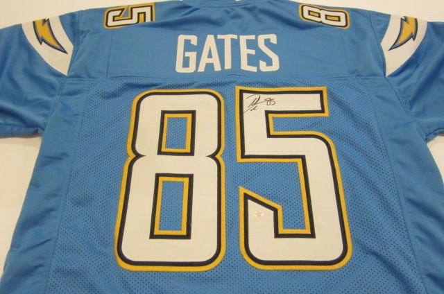 af34ab78ccc Lot 3118: Antonio Gates San Diego Chargers signed autographed Jersey  Certified Coa