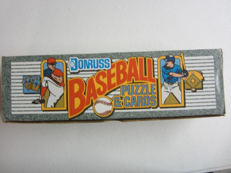 1990 Donruss Baseball And Puzzle Cards Factory Set