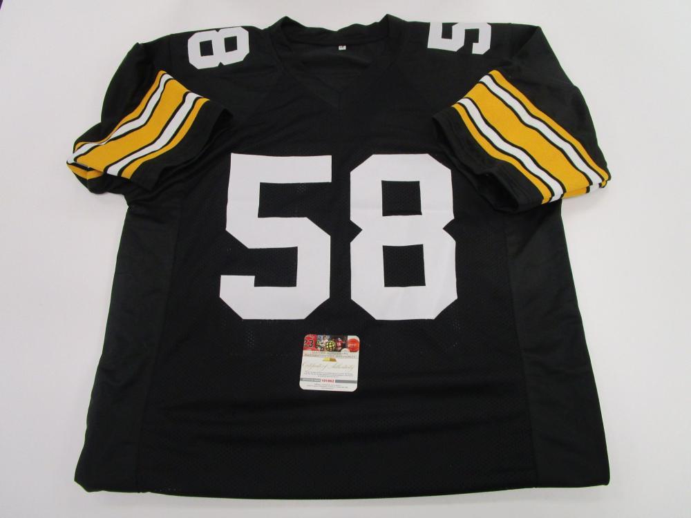 huge discount 57111 78fe3 Jack Lambert, Pittsburgh Steelers Middle Linebacker, NFL ...