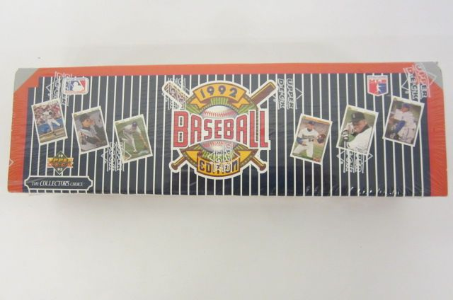 1992 Upper Deck Factory Sealed Baseball Card Set