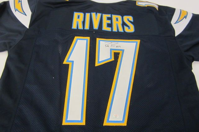 low priced e5d98 0bad2 Philip Rivers San Diego Chargers signed autographed Jersey ...