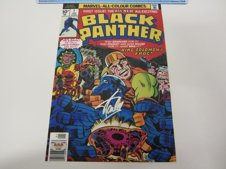 STAN LEE Signed Autographed