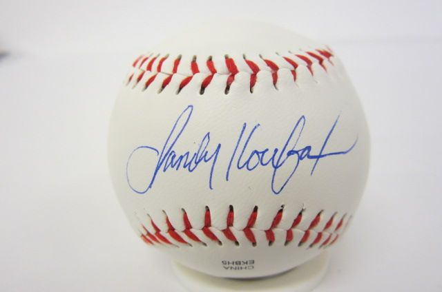 SANDY KOUFAX LA Dodgers Signed Autographed Baseball Certified CoA