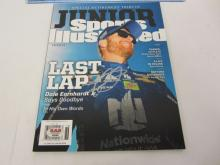 DALE EARNHARDT JR Signed Autographed Sports Illustrated Magazine Certified CoA