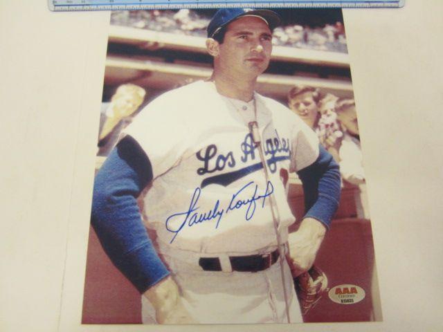 SANDY KOUFAX LA Dodgers Signed Autographed 8x10 Photo Certified CoA