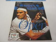 ROGER FEDERER Signed Autographed Sports Illustrated Magazine Certified CoA