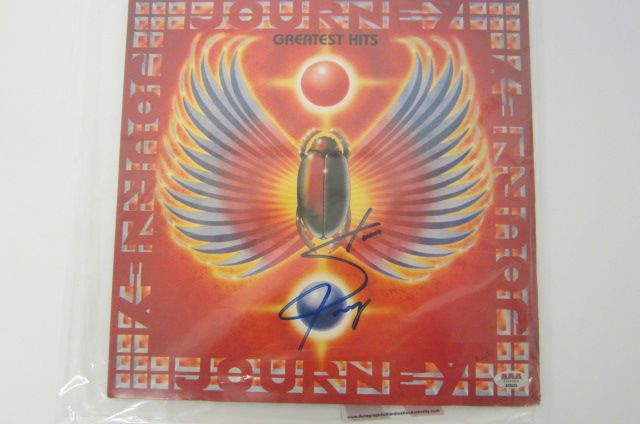 STEVE PERRY Signed Autographed Journey
