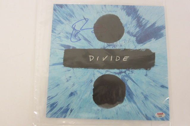 ED SHEERAN Signed Autographed