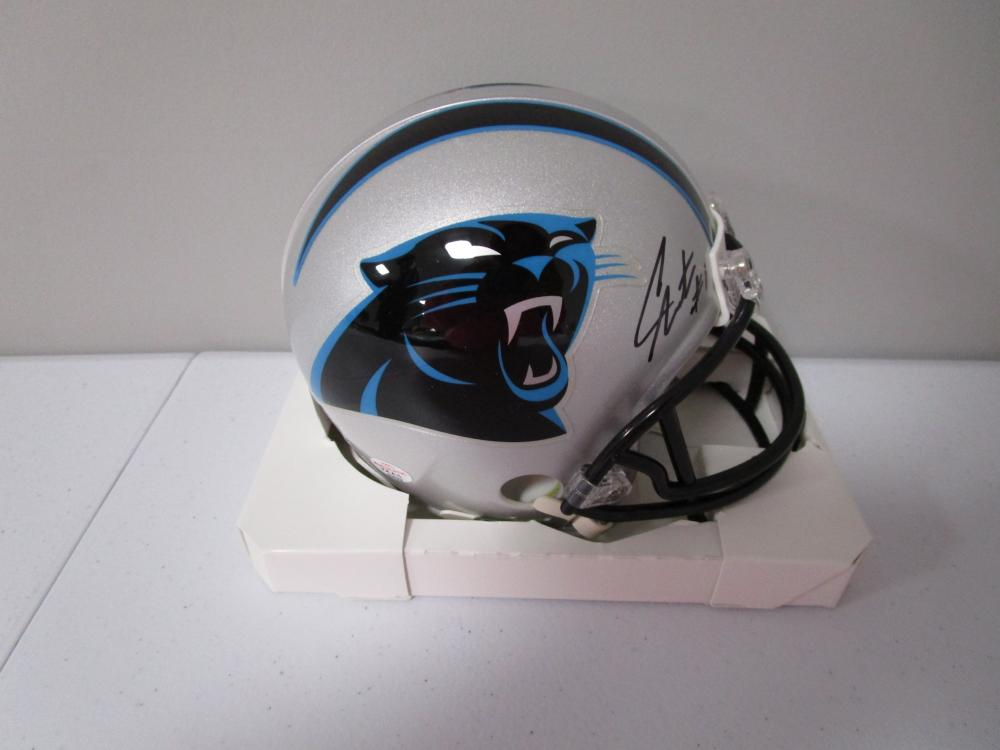 best service 7e98c 2be4c Cam Newton of the Carolina Panthers autographed mini ...