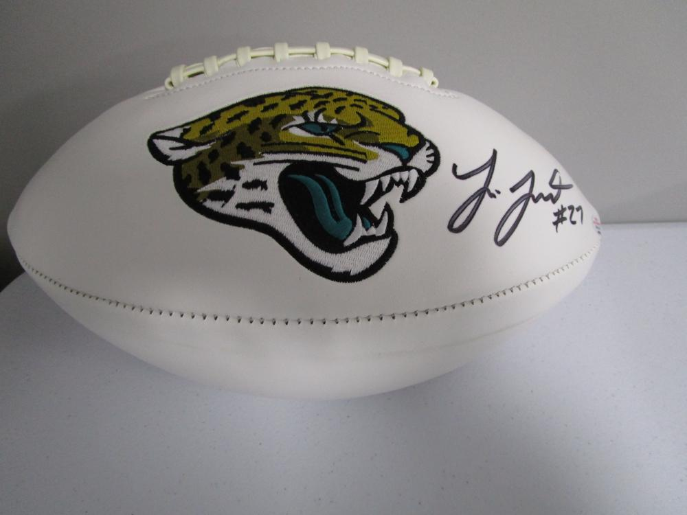9c14172ce Lot 4174: Leonard Fournette of the Jacksonville Jaguars signed autographed  logo football COA 931