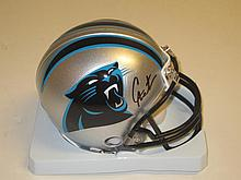 Cam Newton Signed Mini Helmet