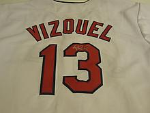 Omar Vizquel Signed Jersey