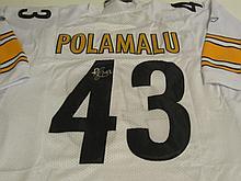 Troy Polamalu Signed Jersey