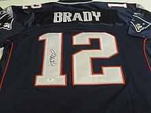 Tom Brady Signed Jersey