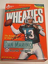Dan Marino Signed Wheaties Box
