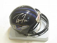 Lewis/Reed Signed Mini Helmet