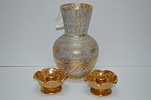 Vint. Stangl Vase Candlesticks
