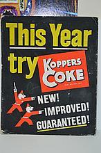 1940s Koppers Coke Advertising