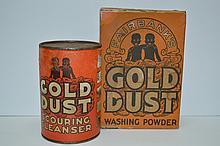 Antique Full Gold Dust Cleansers